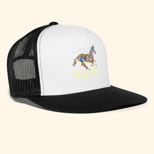 unicorn girl T-shirt - Trucker Cap