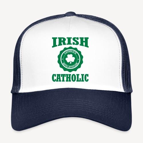 IRISH CATHOLIC - Trucker Cap