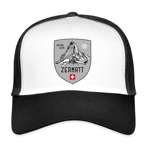 Zermatt Schweiz Wappen - Trucker Cap