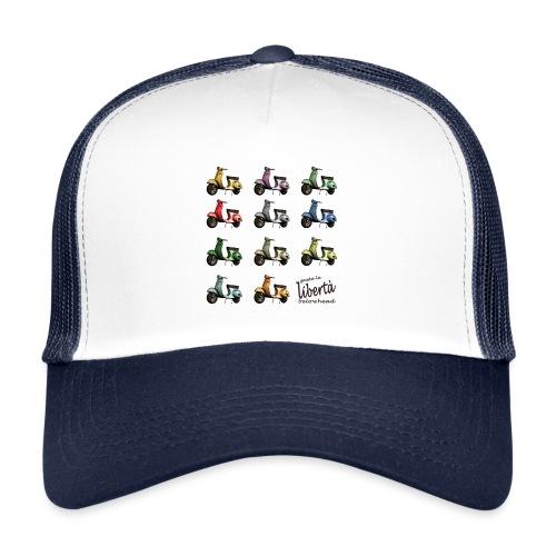 ♂ BIO-SHIRT: gusta la libertà - Trucker Cap
