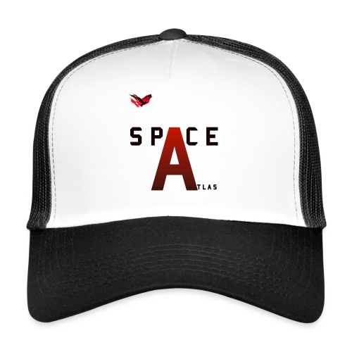 Space Atlas Baseball Long Sleeve Capital A - Trucker Cap