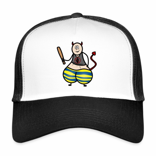 Devil No Touchies Charlie - Trucker Cap