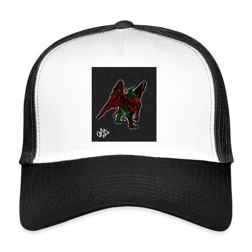Grifone verde-rosso - Trucker Cap