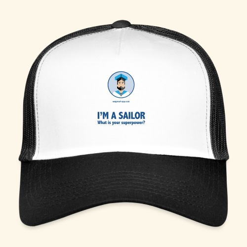 SeaProof Superpower - Trucker Cap