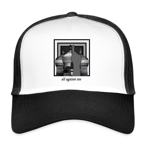 ALL AGAINST ME-2 - Gorra de camionero