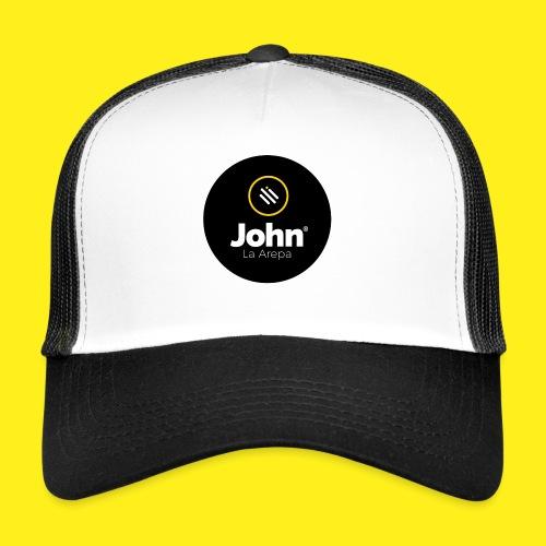 logo john - Gorra de camionero