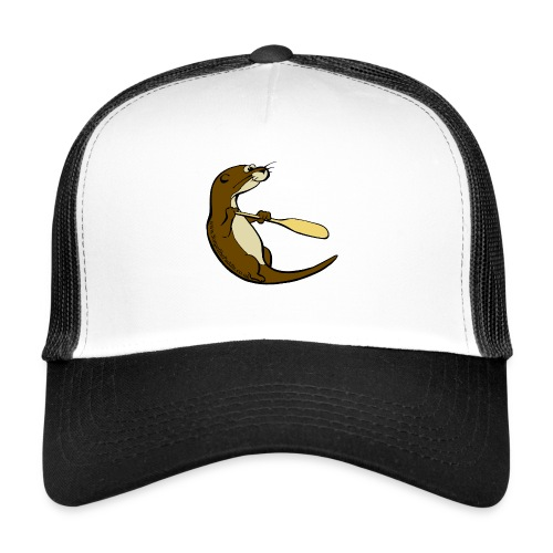 Song of the Paddle; Quentin classic pose - Trucker Cap