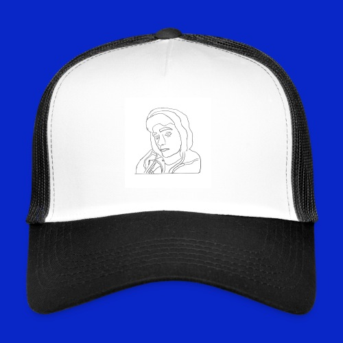 Jonny C cartoon drawing - Trucker Cap