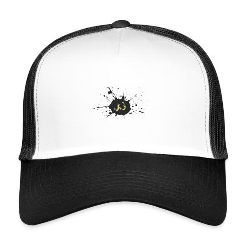JU spray logo - Trucker Cap