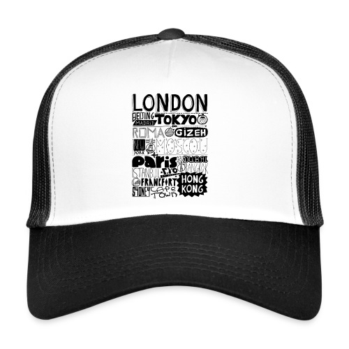 Villes du monde - Trucker Cap