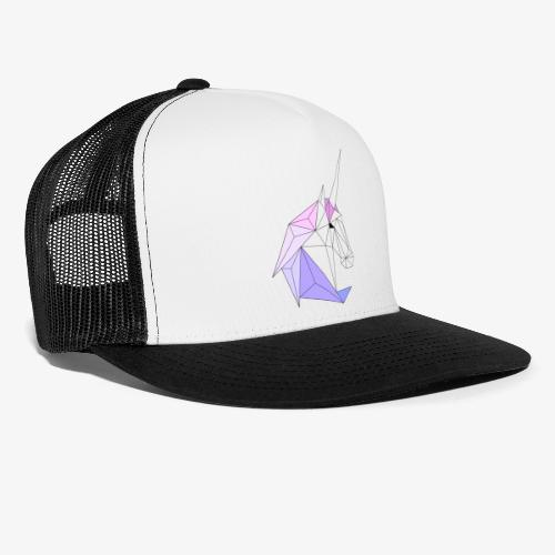 Einhorn geometrie unicorn - Trucker Cap