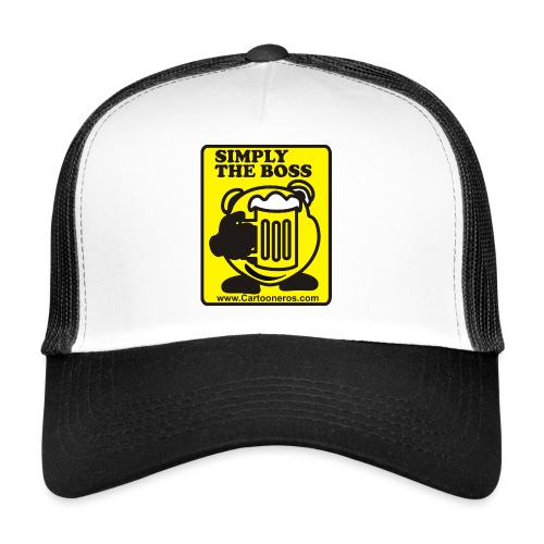 Simply the Boss - Trucker Cap
