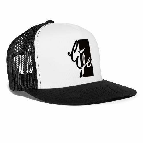 Life Logo 02 - Trucker Cap