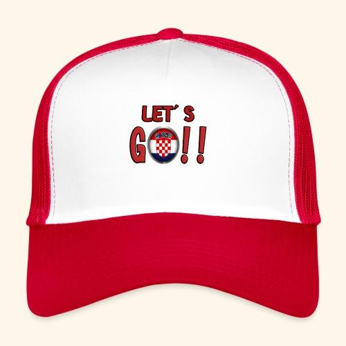 Go Croatia - Trucker Cap