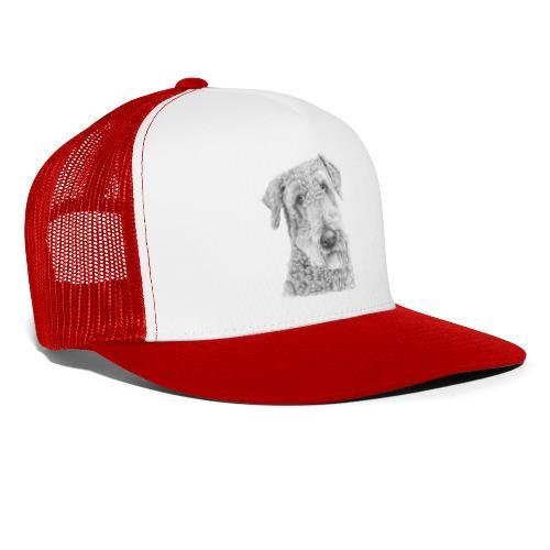airedale terrier - Trucker Cap