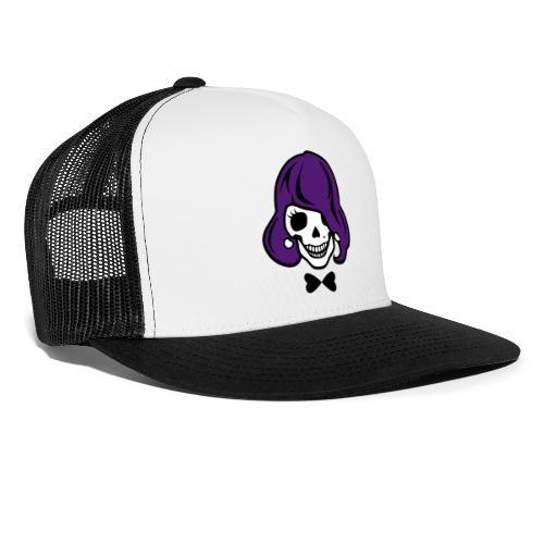 Skelett zum Haare färben - Trucker Cap