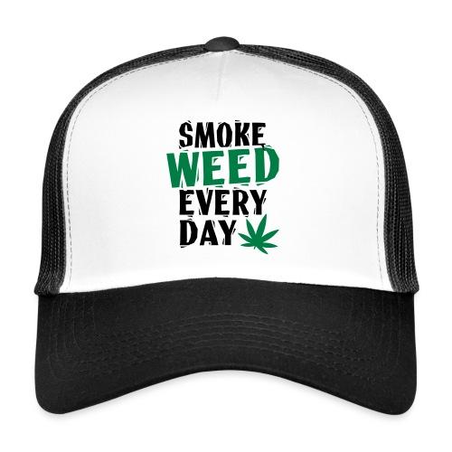 Smoke Weed Everyday Linovert - Trucker Cap