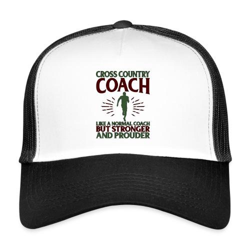 Cross Country Coach Gift Cross Country Coach Like - Trucker Cap