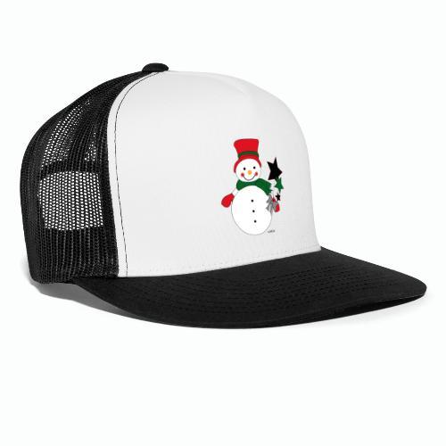 Snowtime-Red - Trucker Cap
