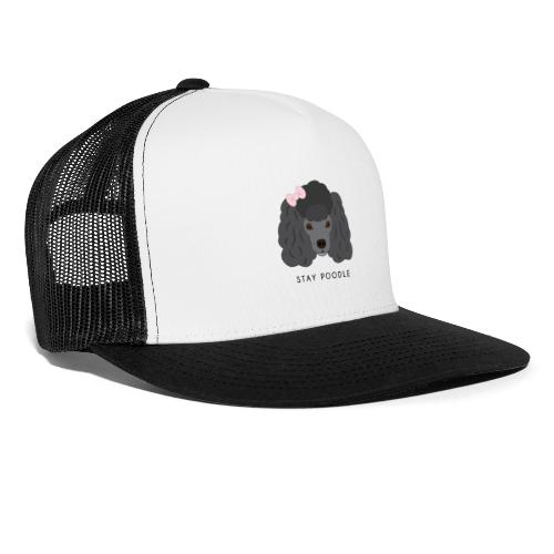Poodle Black - Trucker Cap