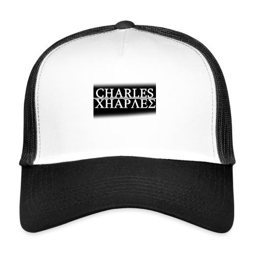 CHARLES CHARLES BLACK AND WHITE - Trucker Cap