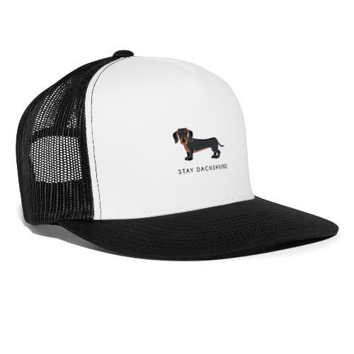 Dachshund Black - Trucker Cap