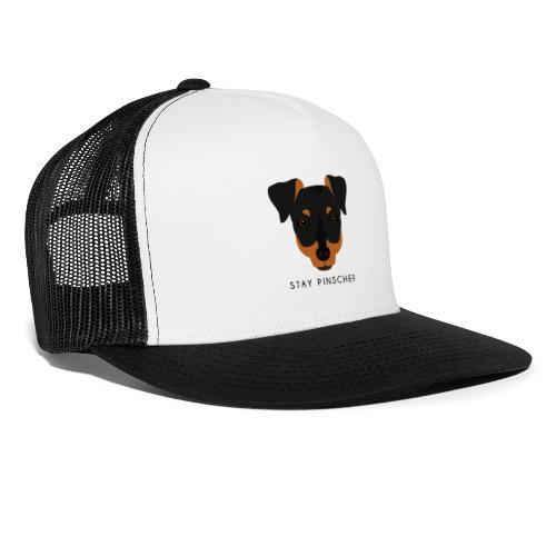 Pinscher - Black - Trucker Cap