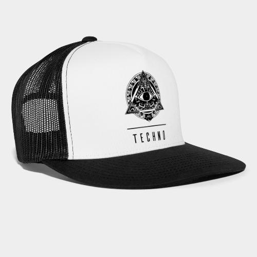 the EYE of TECHNO - Trucker Cap