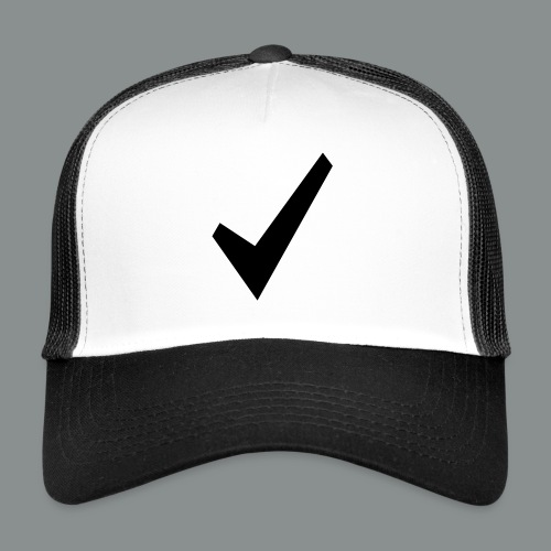 spunta nera - Trucker Cap