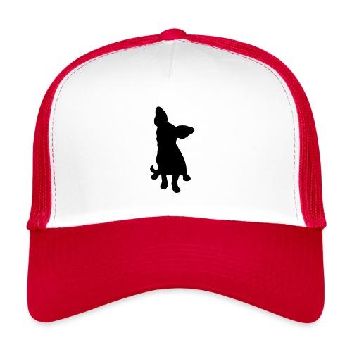 Chihuahua istuva musta - Trucker Cap