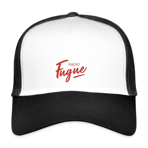 Radio Fugue Red - Trucker Cap