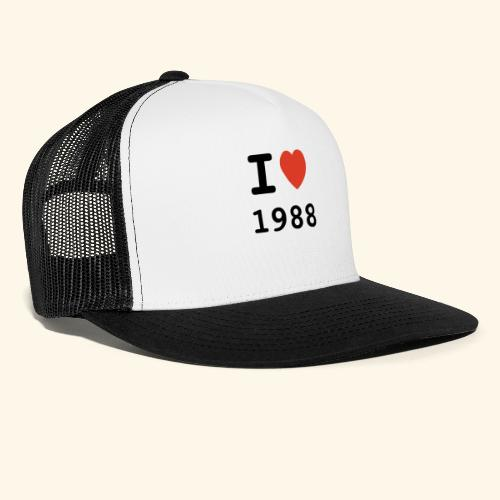 I Love 88 b 001 - Trucker Cap