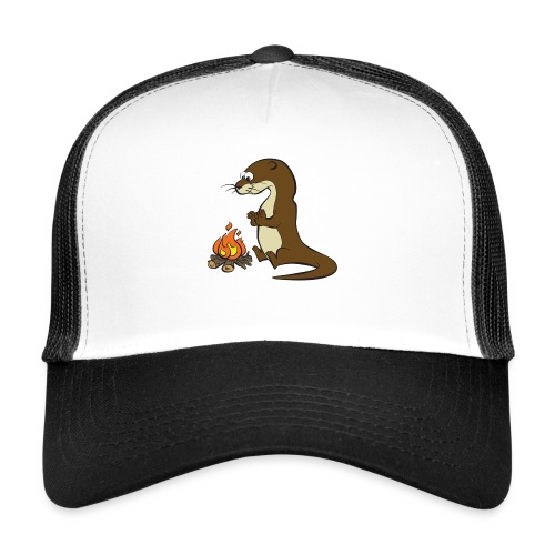 Song of the Paddle; Quentin campfire - Trucker Cap