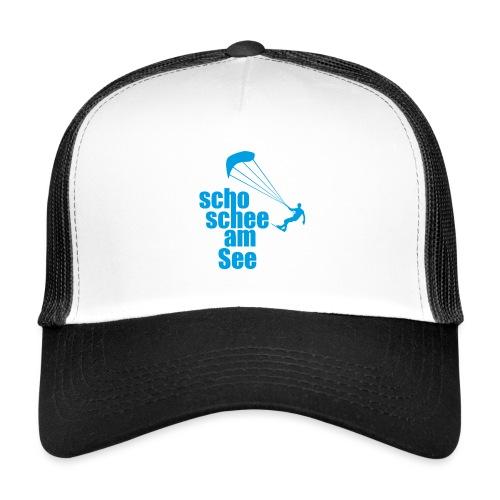 scho schee am See Surfer 01 kite surfer - Trucker Cap