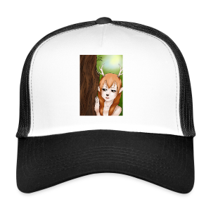 Sam sung s6:Deer-girl design by Tina Ditte - Trucker Cap