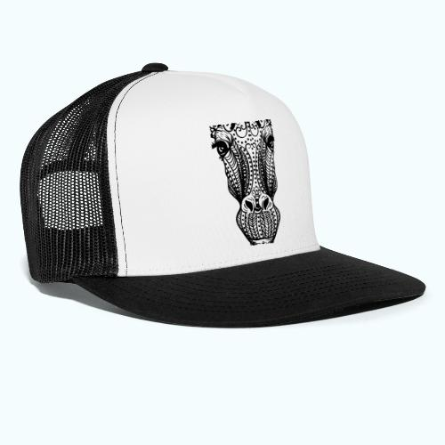 Mandala giraffes face - Trucker Cap