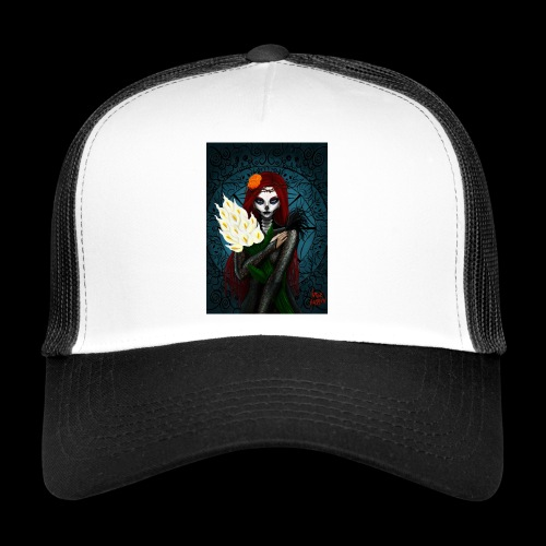 Death and lillies - Trucker Cap