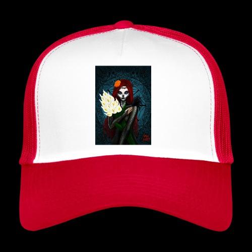 Death and lillies - Trucker Cap