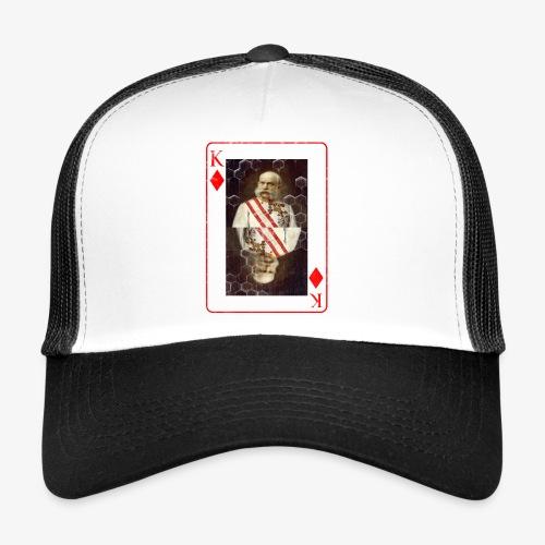 Kaiser Franz von Österreich spielkarte - Trucker Cap