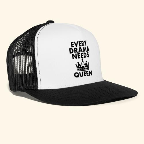 EVERY DRAMA black png - Trucker Cap