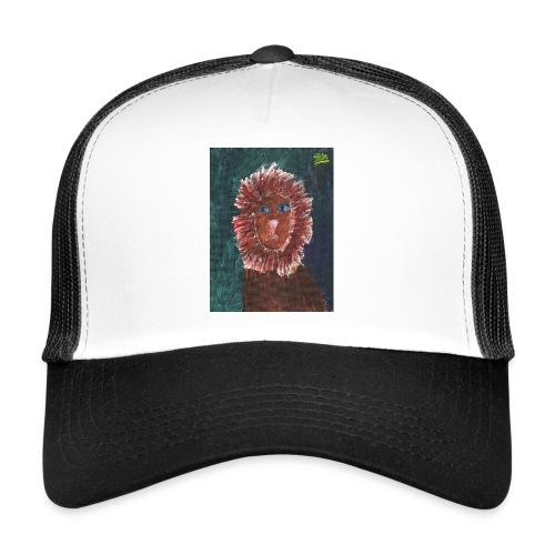 Lion T-Shirt By Isla - Trucker Cap