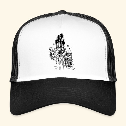renard nature - Trucker Cap