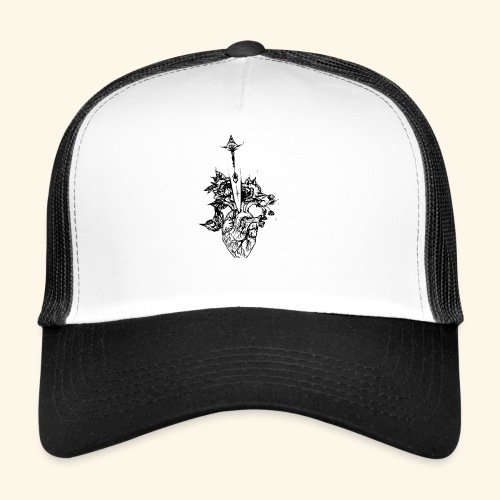 la nature du coeur - Trucker Cap