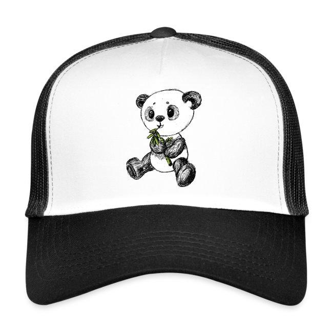 Panda bear colored scribblesirii