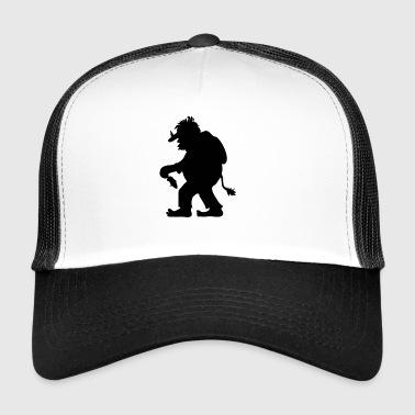 Troll Norvégien | Troll figure avec Tannenbaum - Trucker Cap