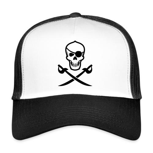 Totenkopf Pirat - Trucker Cap