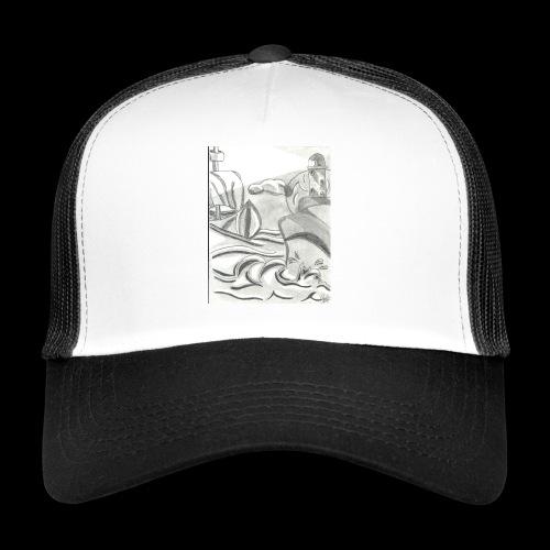 abstrack - Gorra de camionero
