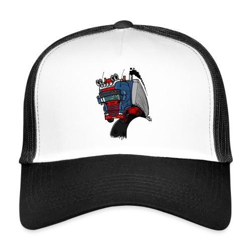 The flying skane man notext - Trucker Cap