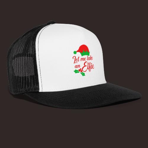Weihnachten | Elf Mütze Weihnachtself Wortspiel - Trucker Cap