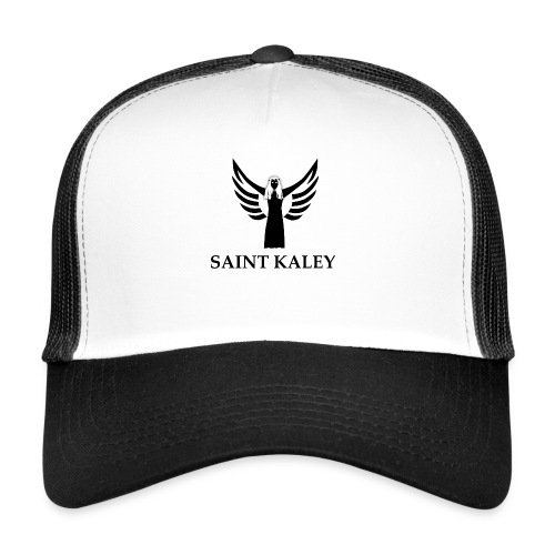 SaintKaley Logo Black - Trucker Cap